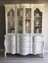 french country china cabinet for sale painted furniture french country white china cabinet