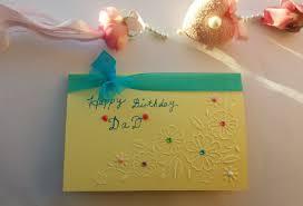 handmade birthday card boyfriend personalised name husband dad