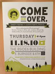 open house invitation inc portland open house by allison davis via behance