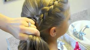 cute girl hairstyles how to french braid same side dutch braid medium hairstyles cute girls hairstyles