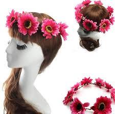 flower hair bands women bohemia flower hair bands headband wedding party