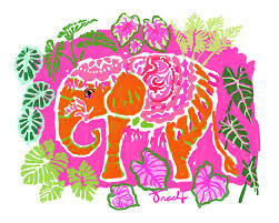 lilly pulitzer elephant design the home design lilly pulitzer