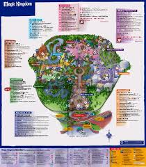 Florida Map Orlando by Magic Kingdom 2006 Disney Maps Pinterest