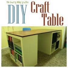 Craft Desk With Storage Work Tables With Storage Foter