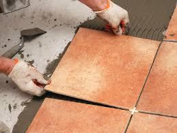 Laminate Flooring Over Linoleum Flooring How To Tileor With Pennies Lay Over Linoleum Video On
