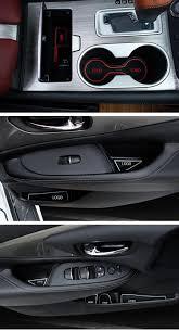 jeep renegade interior colors 16pcs set car styling slot pad interior door groove mat latex anti
