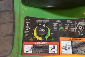 2006 john deere lt180 lawn mower item k2347 sold march