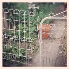 garden wire fencing gardening ideas