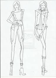 advance fashion design portfolio presentation fashion sketches