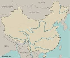 map world seas test your geography knowledge china rivers and seas lizard point