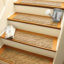 Laminate Flooring Stair Treads Amazon Com Aqua Shield Brittany Leaf Stair Treads 8 5 By 30