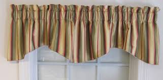 devon striped window valances thecurtainshop com