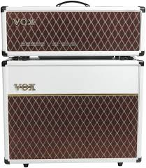 vox ac30 2x12 extension cabinet vox ac30c head and 2x12 cabinet limited white bronco sweetwater