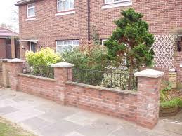 garden brick wall design ideas garden bricks home outdoor decoration