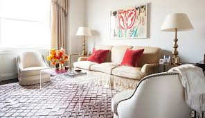 Living Room With Area Rug by Rug Guide A Room By Room Guide To Rug Sizes U2013 One Kings Lane