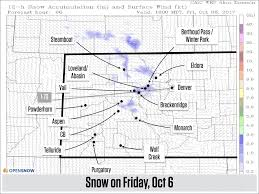 Map Of Eastern Colorado by Colorado Daily Snow Report Snow Forecast Opensnow