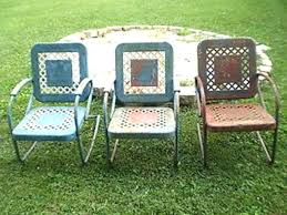 Metal Lawn Chairs Old Fashioned by Articles With Metal Patio Chairs Vintage Tag Amusing Iron Porch