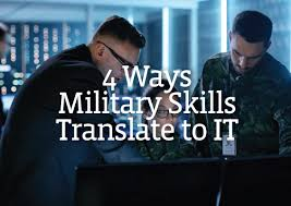 from dod to ios 4 military skills to put on your it resume