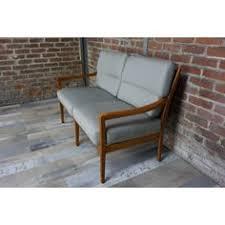 canapes vintage suite de 4 fauteuils modulables en cuir collector chic fauteuil