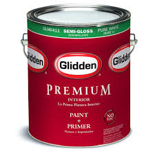 glidden premium 1 gal semi gloss interior paint gln6400 01 the