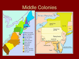 Virginia Colony Map by American Chesapeake Bay And The Middle Colonies Travel Map