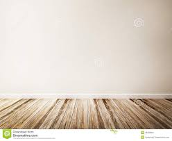 empty room of white wall and wood floor illustration 46259994
