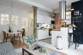 cuisine dans petit espace cuisine americaine photos de design d intérieur et