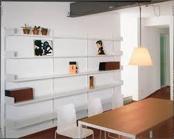 librerie muro libreria a muro modulare in metallo laccato per soggiorno