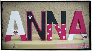 wood carving letter templates minnie mouse letters etsy minnie mouse painted letter disney name letters free standing letters baby name baby room letters shelf
