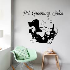 Design Wall Decals Online Compare Prices On Bathing Dog Wall Decals Online Shopping Buy Low