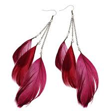 feather earing feather earings how to make feather earrings the basics