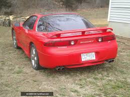 mitsubishi coupe 1995 mitsubishi 3000gt information and photos zombiedrive
