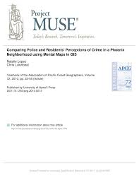 Large Bologna Maps For Free by Comparing Police And Residents U0027 Perceptions Of Crime In A Phoenix
