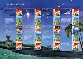 christmas 2015 stamps of great britain 3 november 2015 from