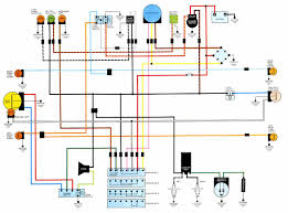 honda wave wiring diagram with simple pictures helix diagrams fig