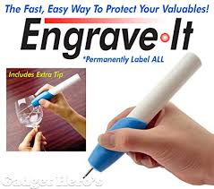 engrave it gadget s engraver it etching engraving pen for all glass
