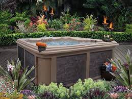 backyard tub ideas for installation and landscaping youtube