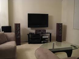 tv room decoration amazing how high to mount tv on wall in living room small home