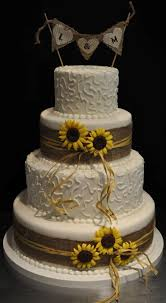 best 25 sunflower wedding cakes ideas on pinterest country
