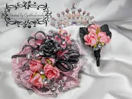 Corsage And Boutonniere For Prom Cynthialoowho Senior Prom Corsage Boutonniere U0026 Tiara