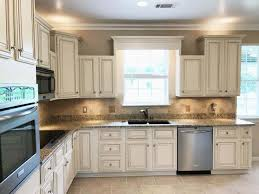painting kitchen cabinets antique white glaze lighter brighter kitchen cabinets how to update your