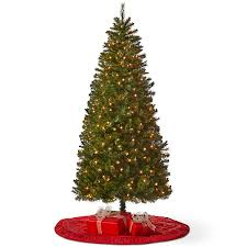 pre lit christmas tree pole trading co 6 1 2 foot jersey pre lit christmas tree