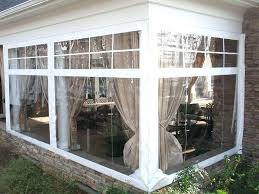 Clear Vinyl Curtains For Porch Luxury Clear Vinyl Patio Enclosures Or Vinyl Porch Enclosures