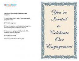 Engagement Ceremony Invitation Free Engagement Invitation Templates