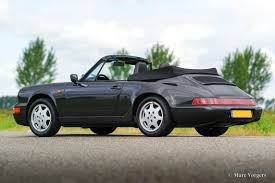 Porsche 911 Convertible - porsche 911 cabriolet 1991 welcome to classicargarage