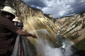 the do u0027s and don u0027ts of yellowstone national park la times