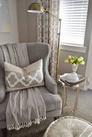 How To Decorate A Side Table by Best 25 Corner Chair Ideas On Pinterest Garvin And Co Cozy