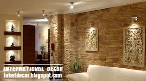 Modern Stone Wall Tiles Design Ideas For Living Room Stone Tiles - Living room wall tiles design
