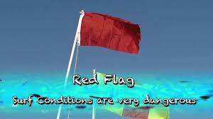 Pensacola Flag Safe Day At The Beach Flag Warning English Youtube