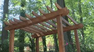 Building A Freestanding Pergola by 13 Free Pergola Plans You Can Diy Today